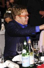 LADY GAGA and Eltoh John at Elton John Aids Foundation Oscar Party in Los Angeles