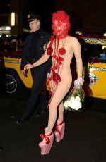 LADY GAGA Arrives at Roseland Ballroom in New York