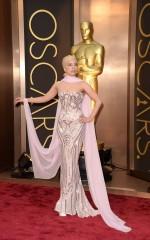 Lady Gaga at 86th Annual Academy Awards in Hollywood