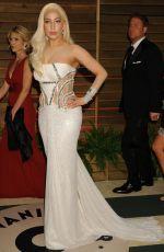 LADY GAGA at Vanity Fair Oscar Party in Hollywood