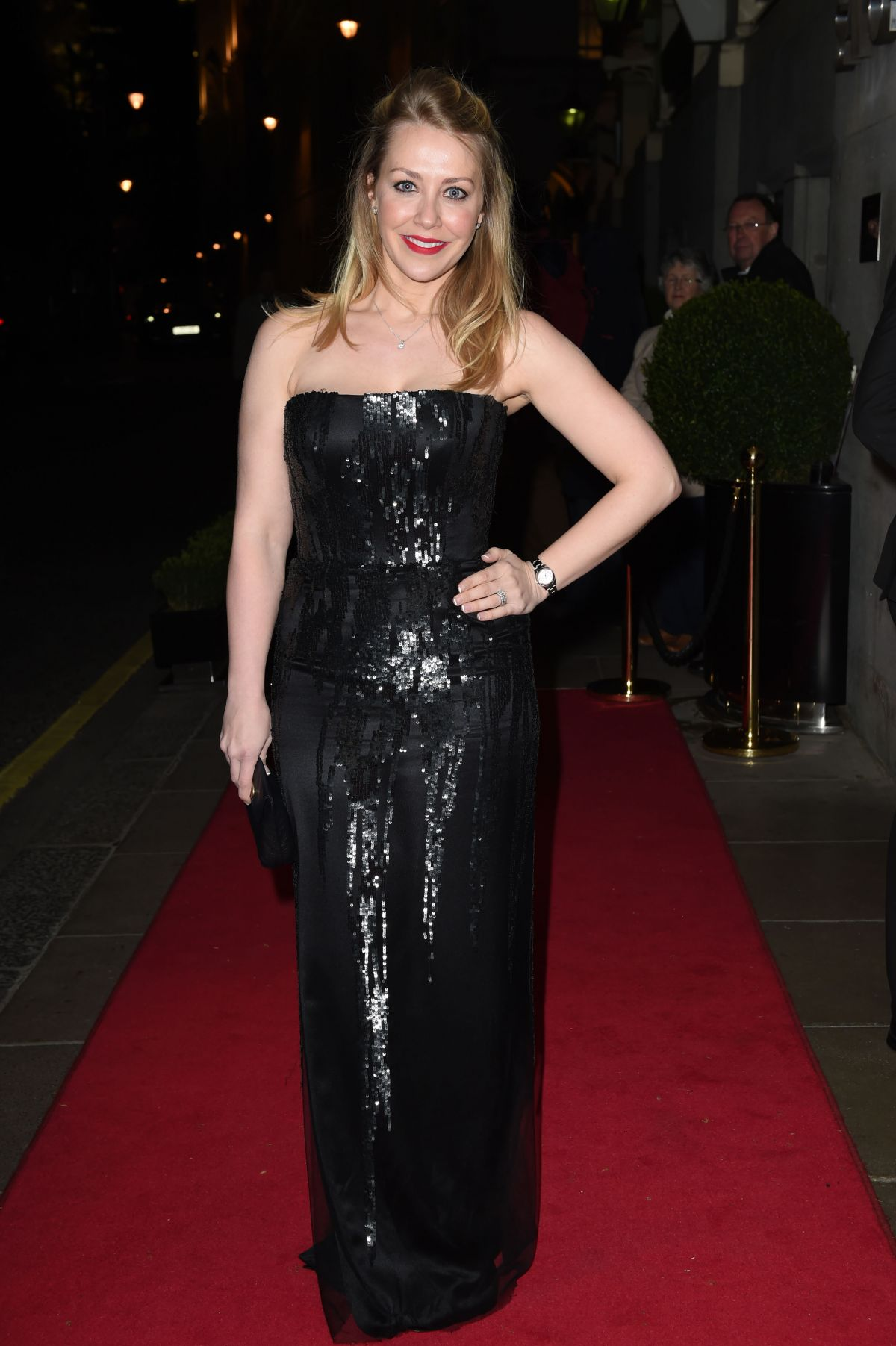 LAURA HAMILTON at VIP Fundraising Dinner in Aid of Helping Hands in London