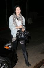 LAURA PREPON Leaves the Chateau Marmont in Los Angeles