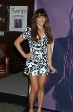 LEA MICHELE at CD Louder Signing at Barnes and Noble at the Grove in Los Angeles