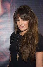 LEA MICHELE at Her Album  Louder Singing Event in New Jersey