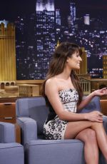 LEA MICHELE at The Tonight Show Starring Jimmy Fallon in New York