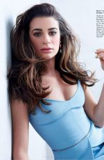 LEA MICHELE in Glamour Magazine, April 2014 Issue
