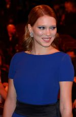 LEA SEYDOUX at Cesar Film Awards in Paris