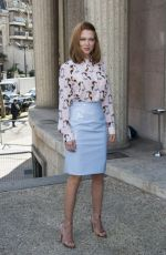 LEA SEYDOUX at Miu Miu Fashion Show in Paris