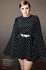 LENA DUNHAM in Glamour Magazine, April 2014 Issue