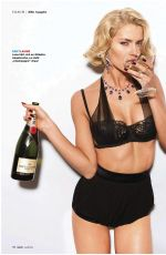 LENA GECKE in GQ Magazine, April 2014 Issue