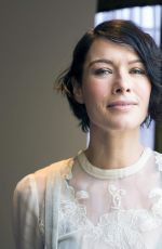 LENA HEADEY at 300: Rise of an Empire Press Conference at the Four Seasons Hotel