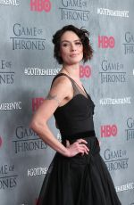 LENA JEADEY at Game of Thrones Fourth Season Premiere in New York