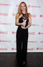 LESLIE MANN at Cinemacon Big Screen Achievement Awards in Las Vegas