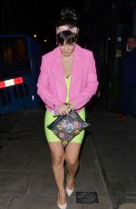 LILY ALLEN Leaves Groucho Club in London