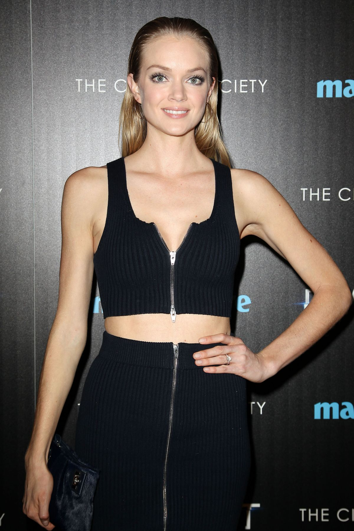 LINDSAY ELLINGSON at Divergent Screening in New York