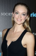 LINDSAY ELLINGSON at Divergent Screening in New York