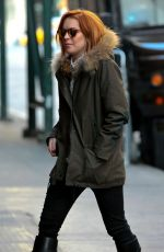 LINDSAY LOHAN Out and About in New York 2403