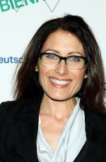 LISA EDELSTEIN at Whitney Biennial Opening Night Party in New York