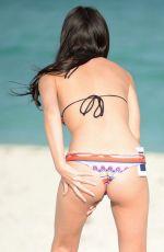 LISA OPIE in Bikini at a Beach in Miami