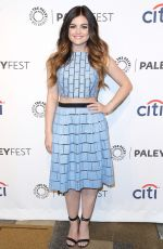 LUCY HALE at Pretty Little Liars Panel at Paley Fest