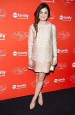 LUCY HALE at Pretty Little Liars Season Finale Screening