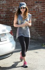 LUCY HALE Out and About in Los Angeles 2103