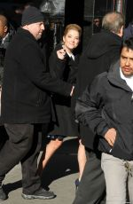 LUXY HALE, ASHLEY BENSON and TROIAN BELLISARIO Arrives at GMA inNew York