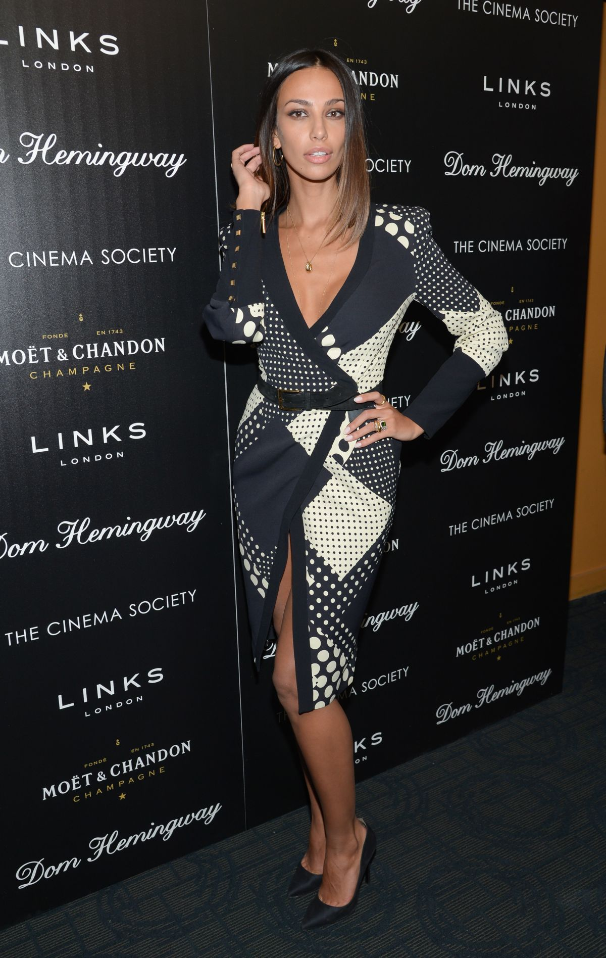 MADALINA GHENEA at Dom Hemingway Screening