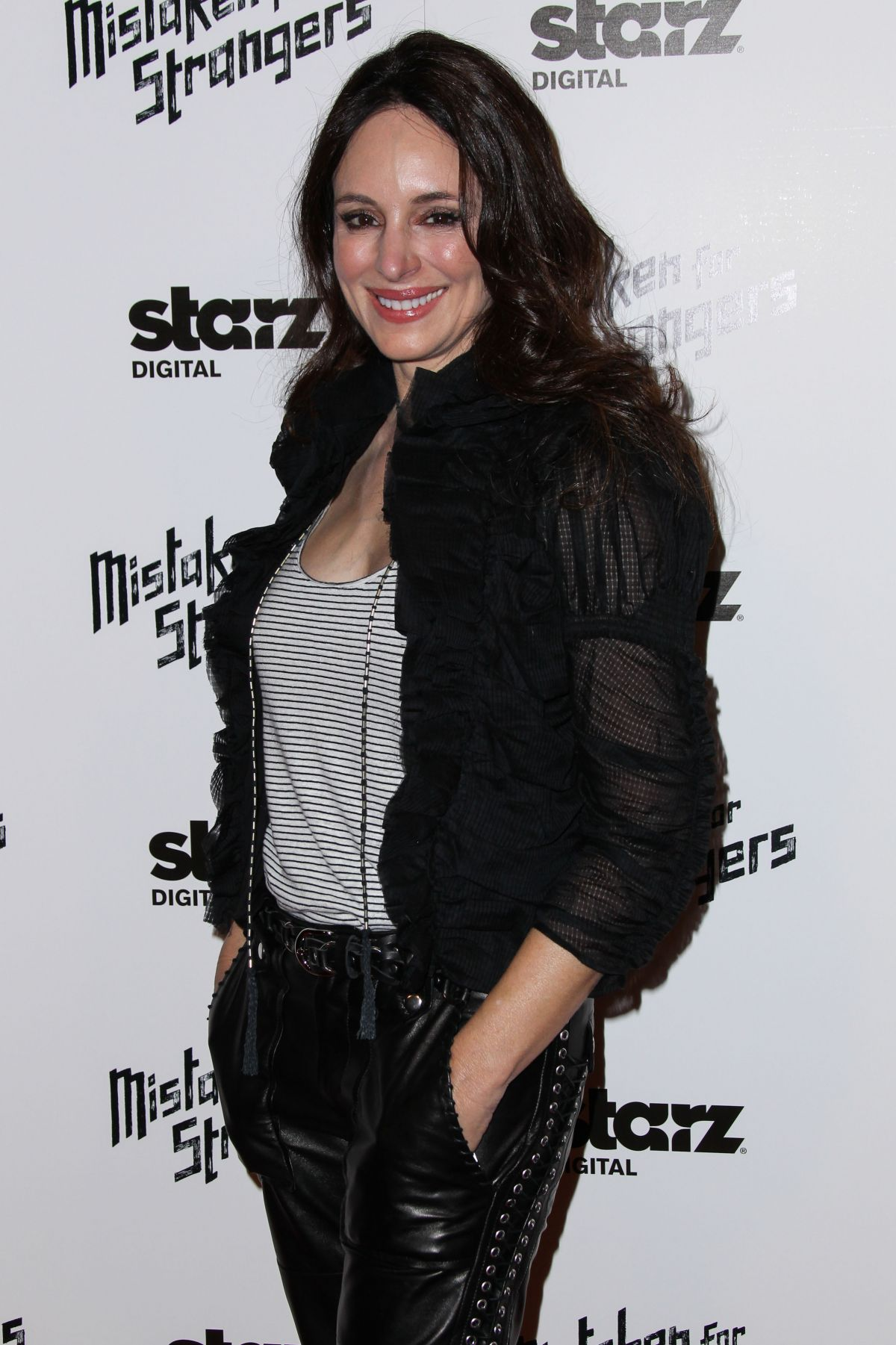 MADELEINE STOWE at Mistaken for Strangers Screening in Los Angeles
