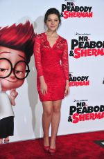 MADISON MCLAUGHLIN at at Mr. Peabody & Sherman Premiere in Westwood