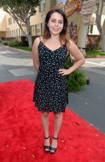 MAE WHITMAN at The Pirate Fairy Premiere in Burbank