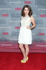 MAISIE WILLIAMS at Game of Thrones Fourth Season Premiere in New York
