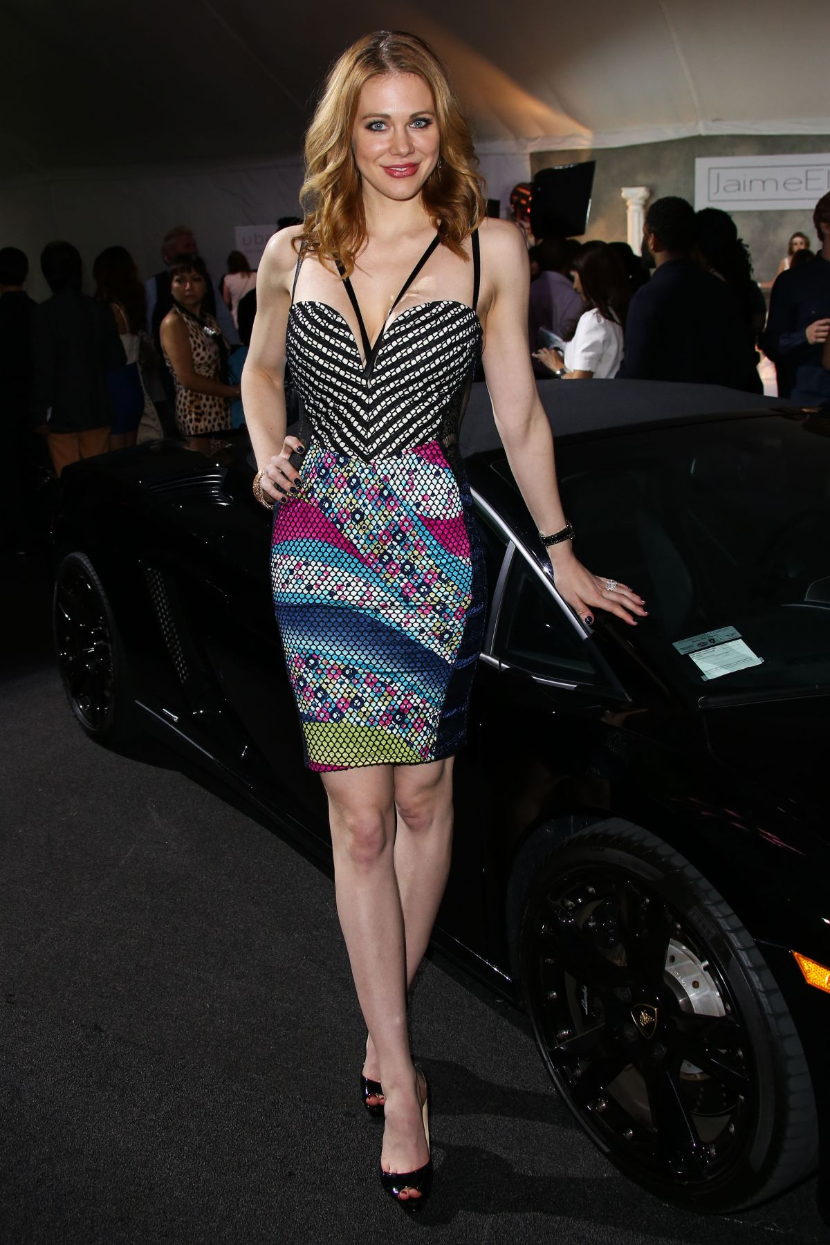 MAITLAND WARD at Style Fashion Event in Los Angeles