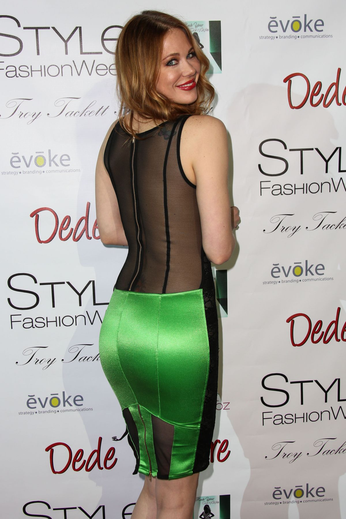 Maitland Ward At Style Fashion Week At La Live Event Deck