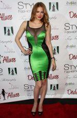 MAITLAND WARD at Style Fashion Week at LA Live Event Deck