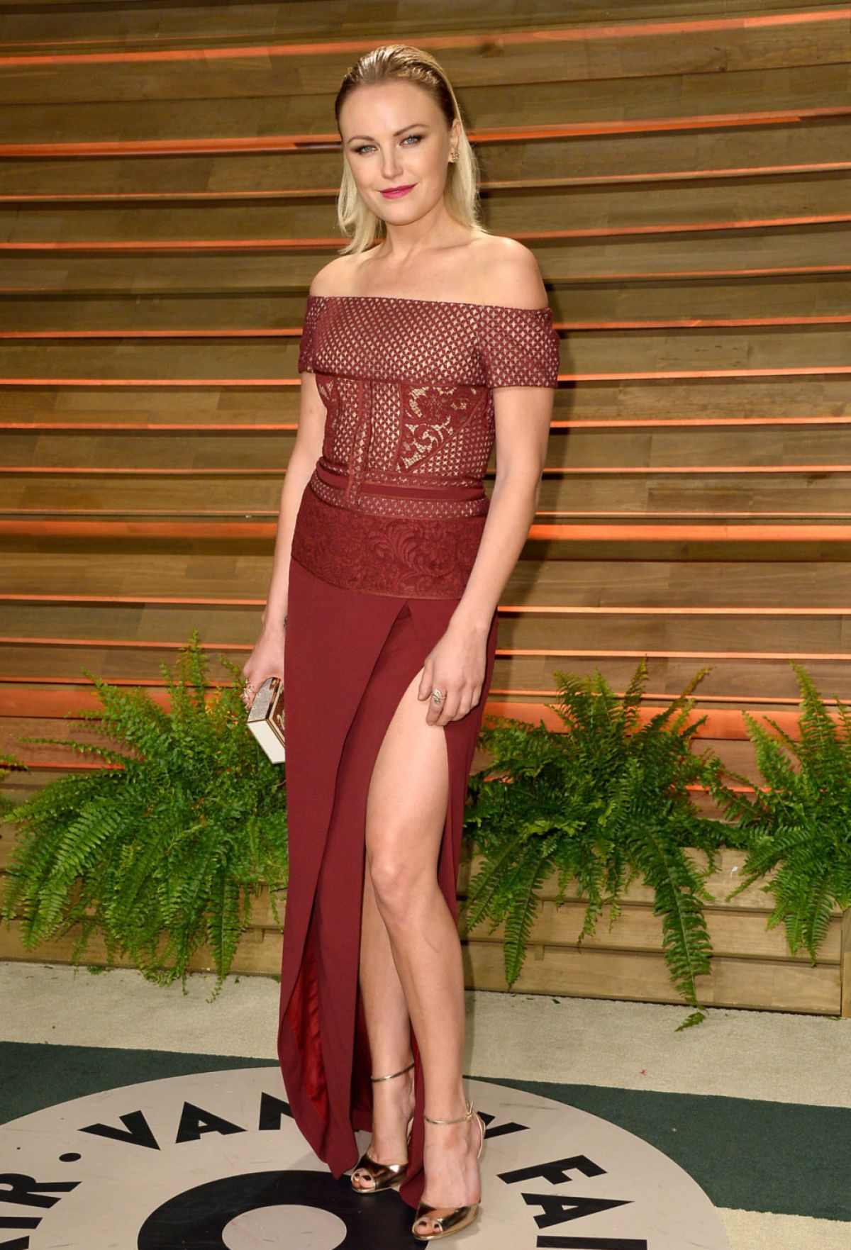 MALIN AKERMAN at Vanity Fair Oscar Party in Hollywood