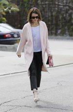 MANDY MOORE Out and About in West Hollywood