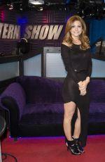 MARIA MENOUNOS Arriving at SiriusXM Radio in New York