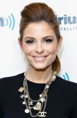 MARIA MENOUNOS at SiriusXM Studio in New York