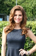 MARIA MENOUNOS on the Set of Extra in Universal City 1003