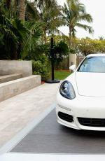 MARIA SHARAPOVA at Porsche Media Night in Miami