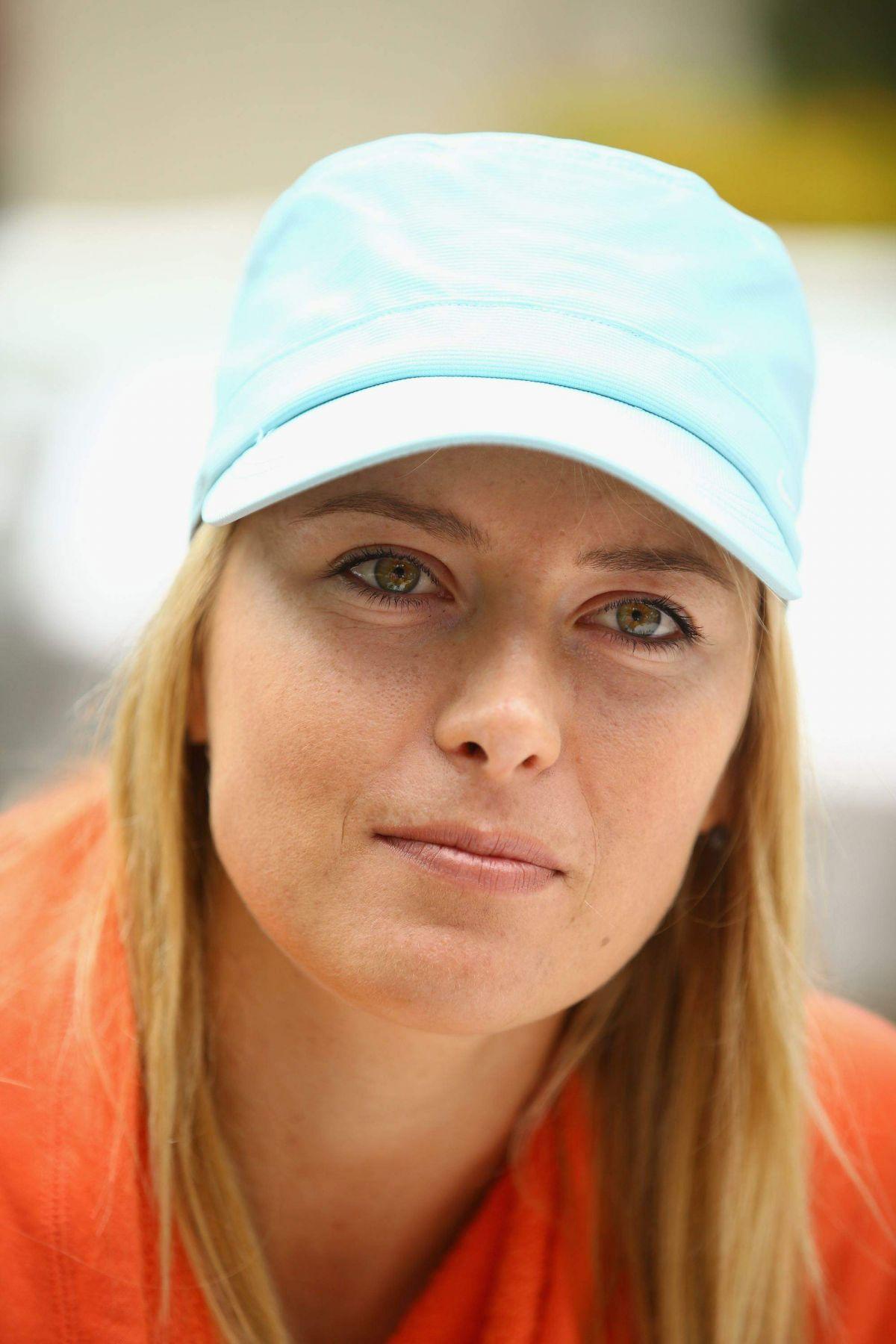 MARIA SHARAPOVA - Media Day Sony Open at Crandon Park Tennis Center