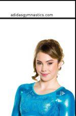 MCKAYLA MARONEY - Adidas Gymnastics Catalog, Spring/Summer 2014