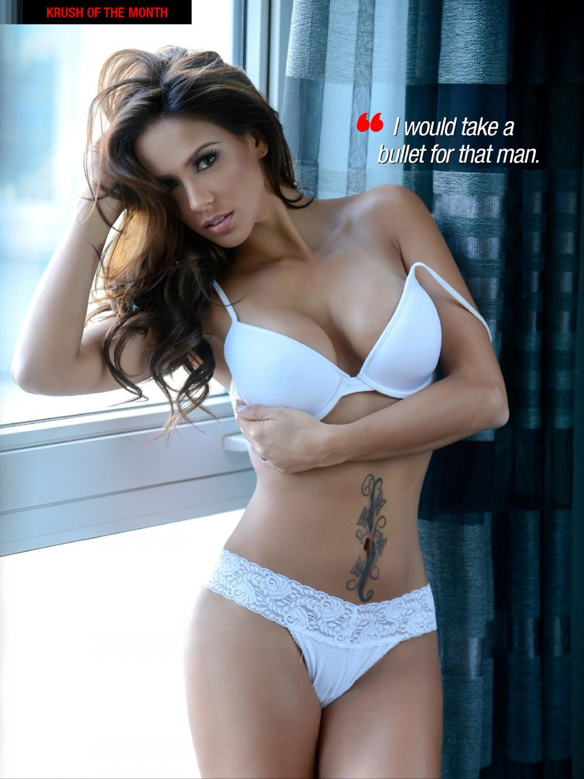 MELISSA RIO in Kandy Magazine, March 2014 Issue