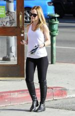 MENA SUVARI Arrives at a Store in West Hollywood