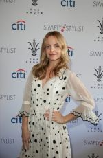 MENA SUVARI at Simply Stylist Los Angeles at the Grove