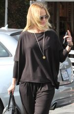 MENA SUVARI Out and About in West Hollywood