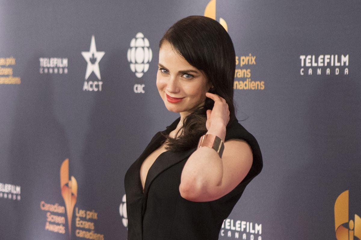 MIA KIRSHNER at 2014 Canadian Screen Awards in Toronto