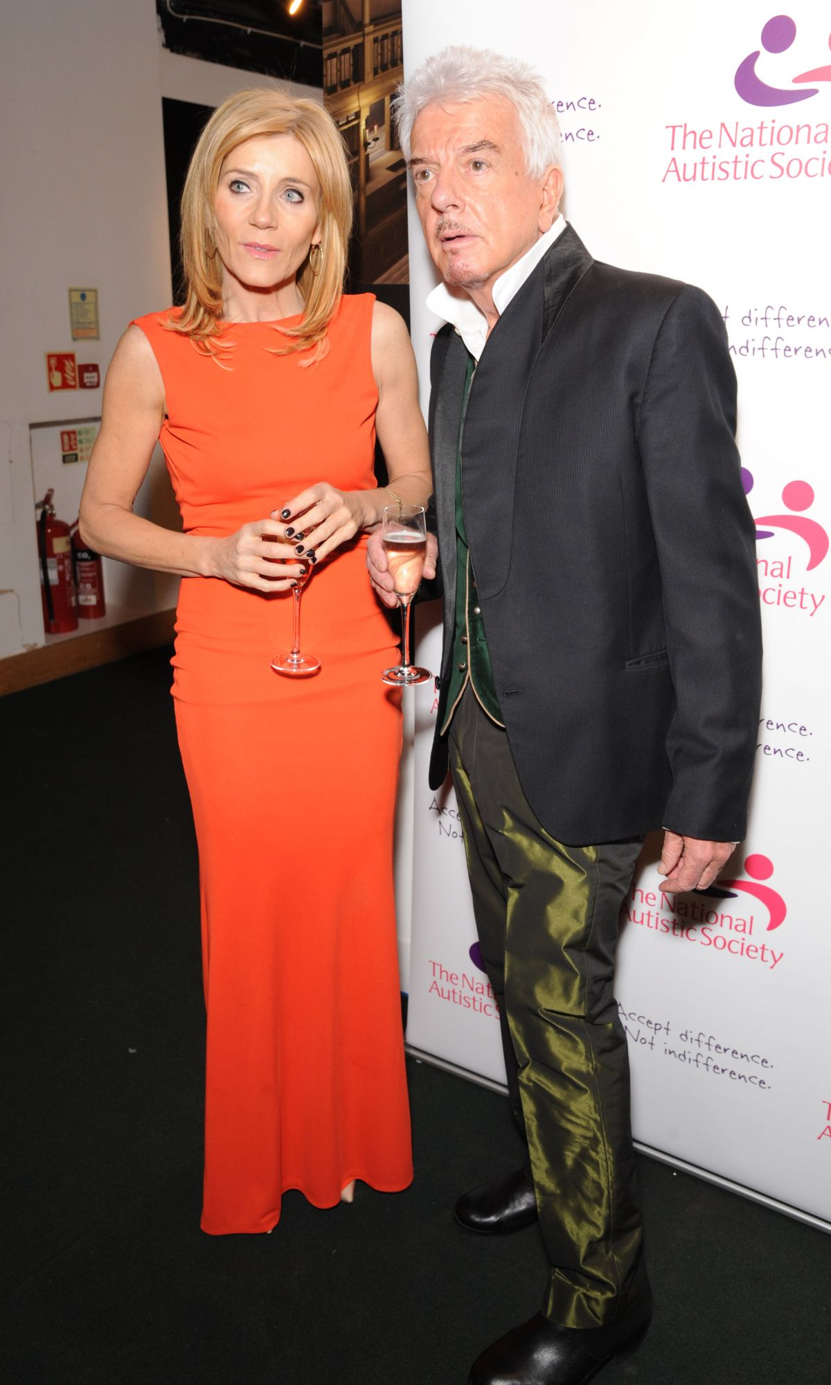MICHELLE COLLINS at the National Autistic Society s Spectrum Ball