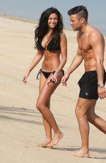MICHELLE KEEGAN in Bikini and Mark Wright at a Beach in Dubai